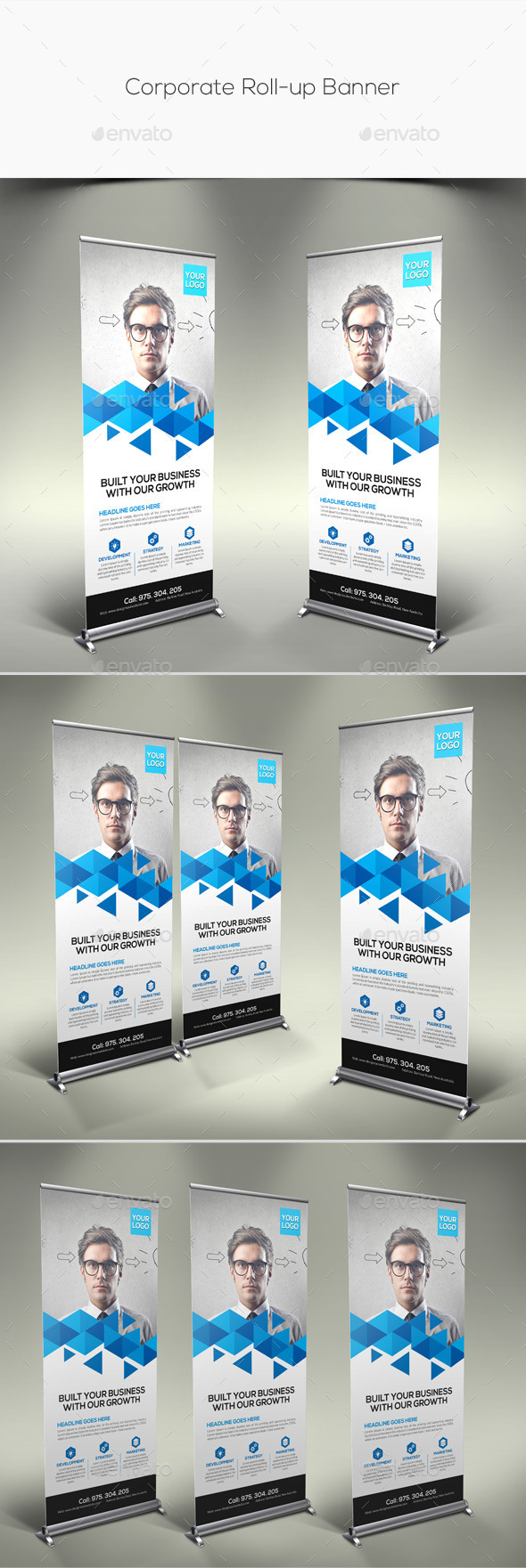 GraphicRiver Corporate Rollup Banner 11293467