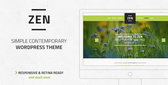 ThemeForest Zen Multi-Purpose OnePage LayersWP Child Theme 11158889
