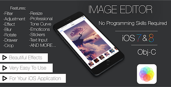 CodeCanyon Image Editor App 11264889
