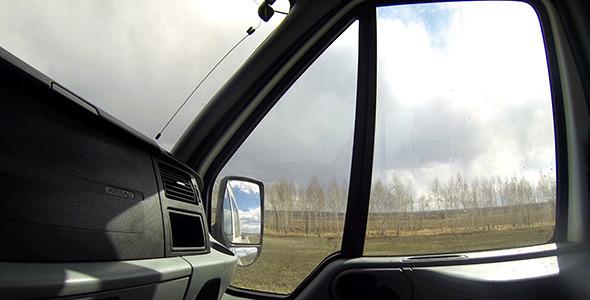 VideoHive Riding A Car 11293884