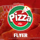 Flyer Pizza Mia - Chiken Wings - GraphicRiver Item for Sale