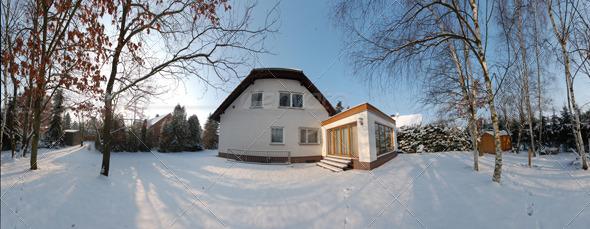 3DOcean HDRI Snowgarden 139494