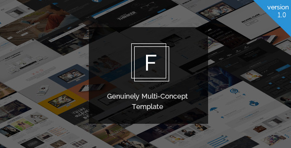 ThemeForest Fajar The Multi-Purpose HTML5 Template 11171068