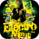 Bad Electro Night Flyer Template - GraphicRiver Item for Sale