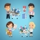 Buyers in Stationery Shop - GraphicRiver Item for Sale