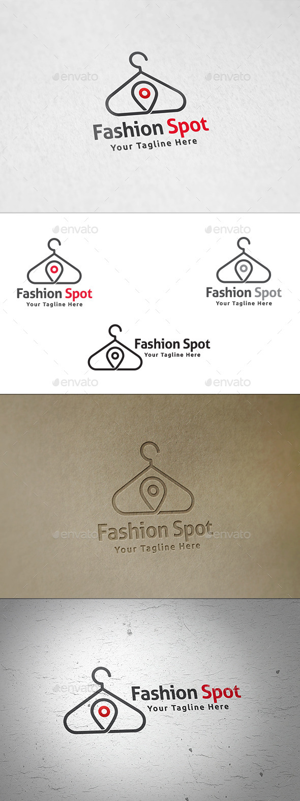 GraphicRiver Fashion Spot logo Template 11294978