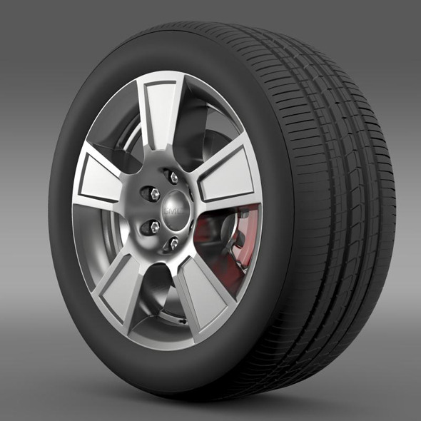 GMC Sierra Regular cab wheel - 3DOcean Item for Sale