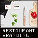 Restaurant Identity Branding Mock-Up - GraphicRiver Item for Sale