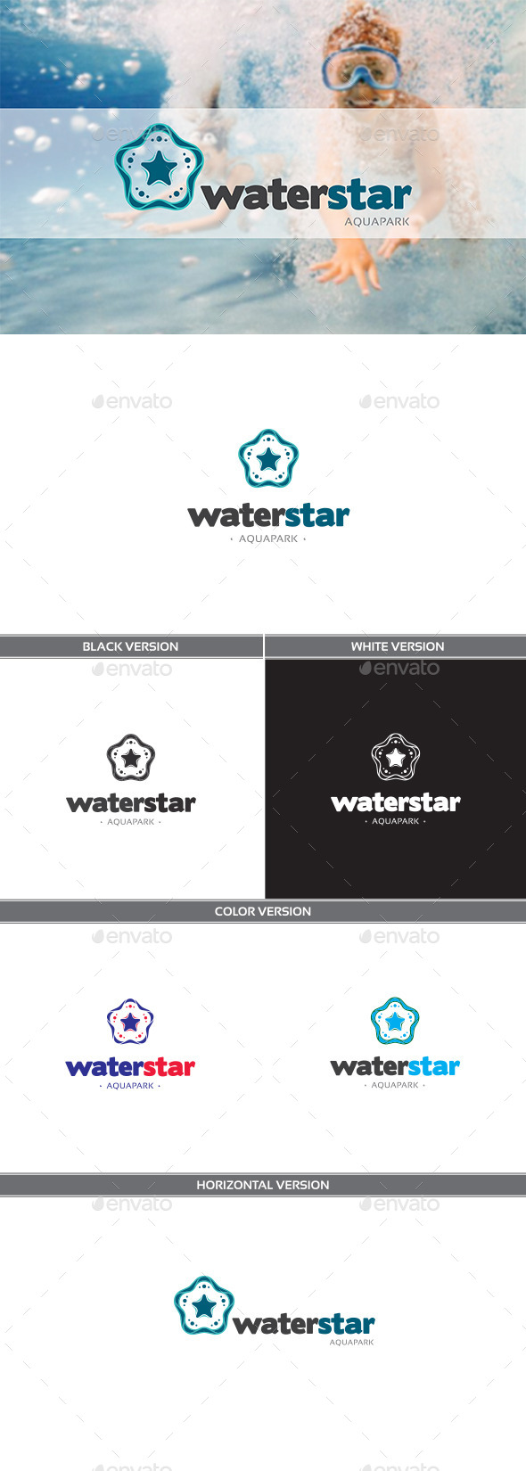 GraphicRiver Waterstar 11295264