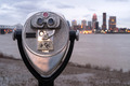 Pay to View Public Magnifying View Binoculars Riverside Park - PhotoDune Item for Sale