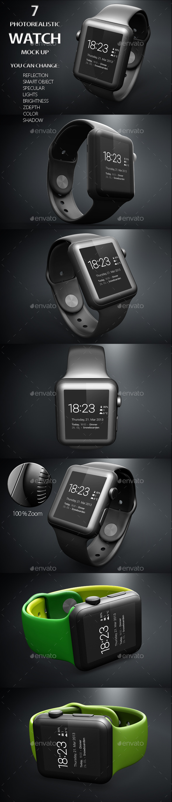 GraphicRiver iWatch Mock Up 11295758