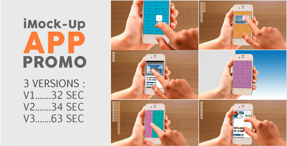 Videohive iMock-Up App Promo 11222330