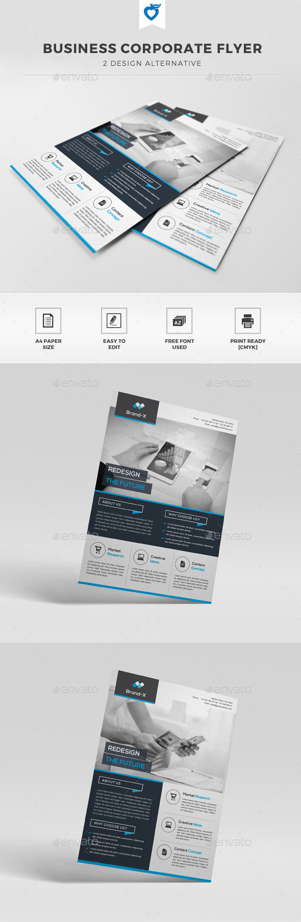 GraphicRiver Business Corporate Flyer 11297428
