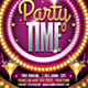 Party Time Flyer - GraphicRiver Item for Sale