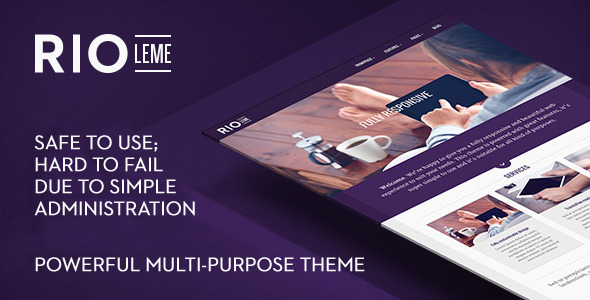RioLeme - Responsive Multi-Purpose WordPress Theme - Corporate WordPress