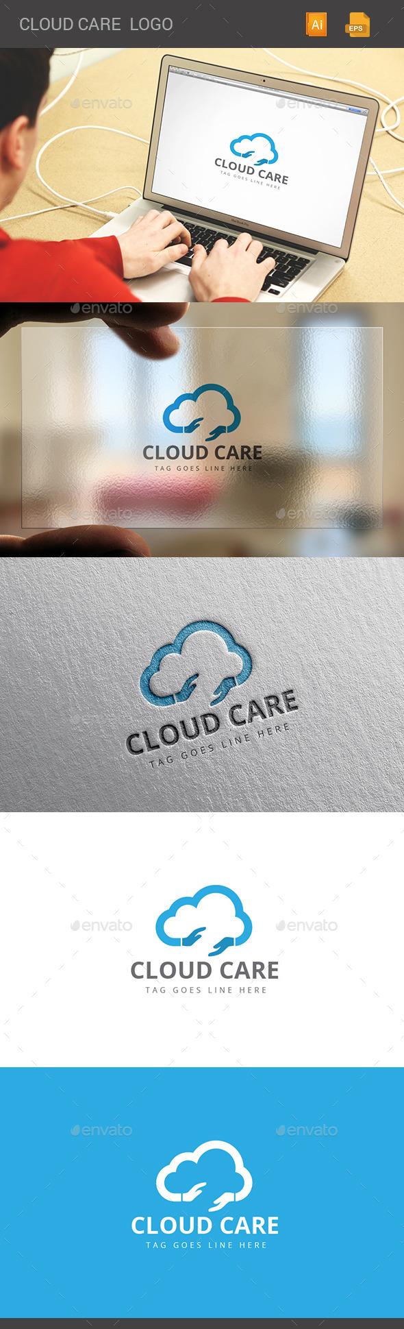 GraphicRiver Cloud Care Logo 11297719
