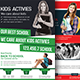 Junior School Education Flyer Bundle - GraphicRiver Item for Sale