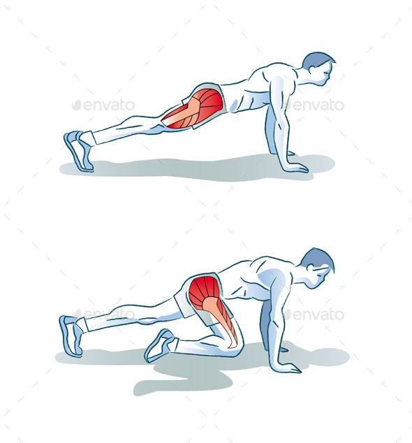 GraphicRiver Man Doing Legs Exercise Workout Main 11297891