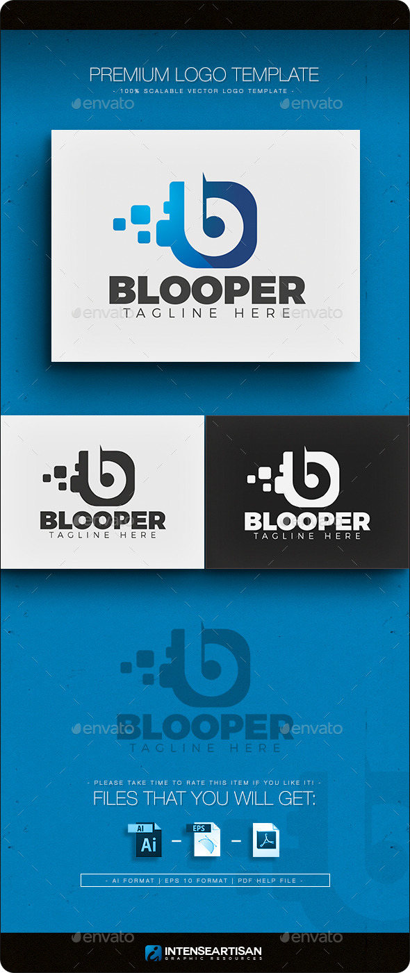 GraphicRiver Blooper Logo 11298346