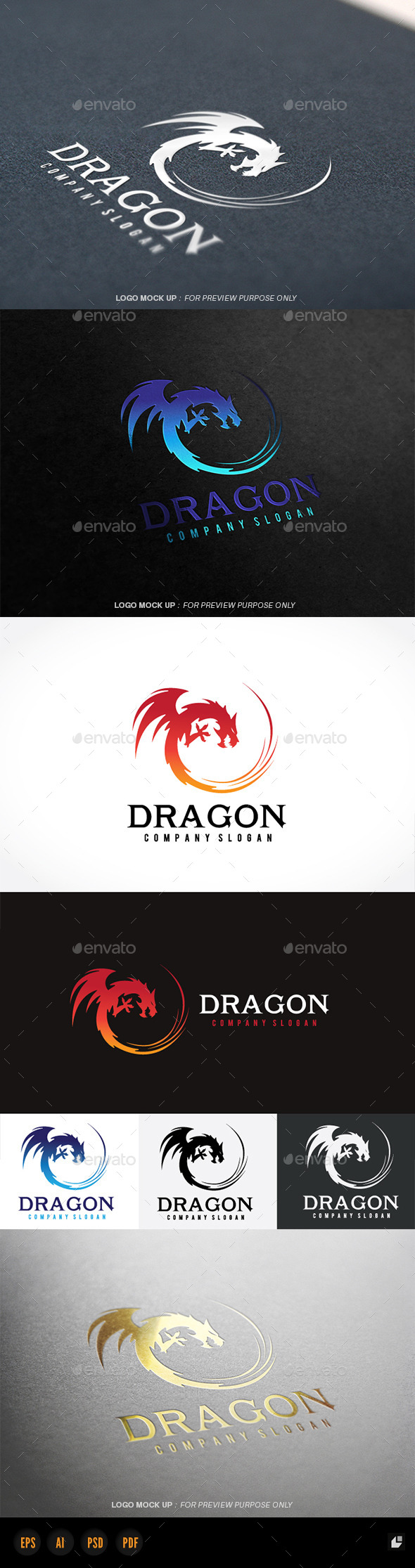 GraphicRiver Dragon 11298459