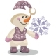 Cartoon Snowman 10 - GraphicRiver Item for Sale