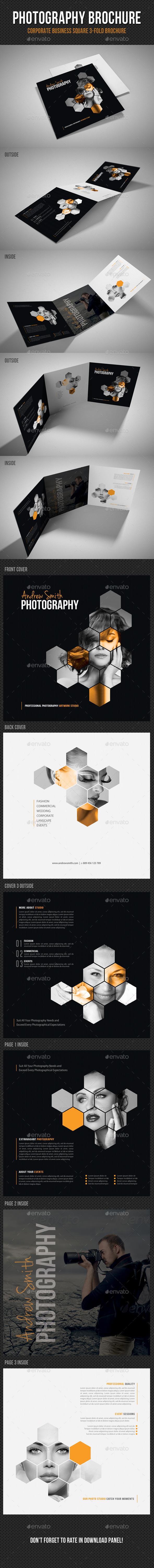 GraphicRiver Photography Studio Square 3-Fold Brochure V01 11298682