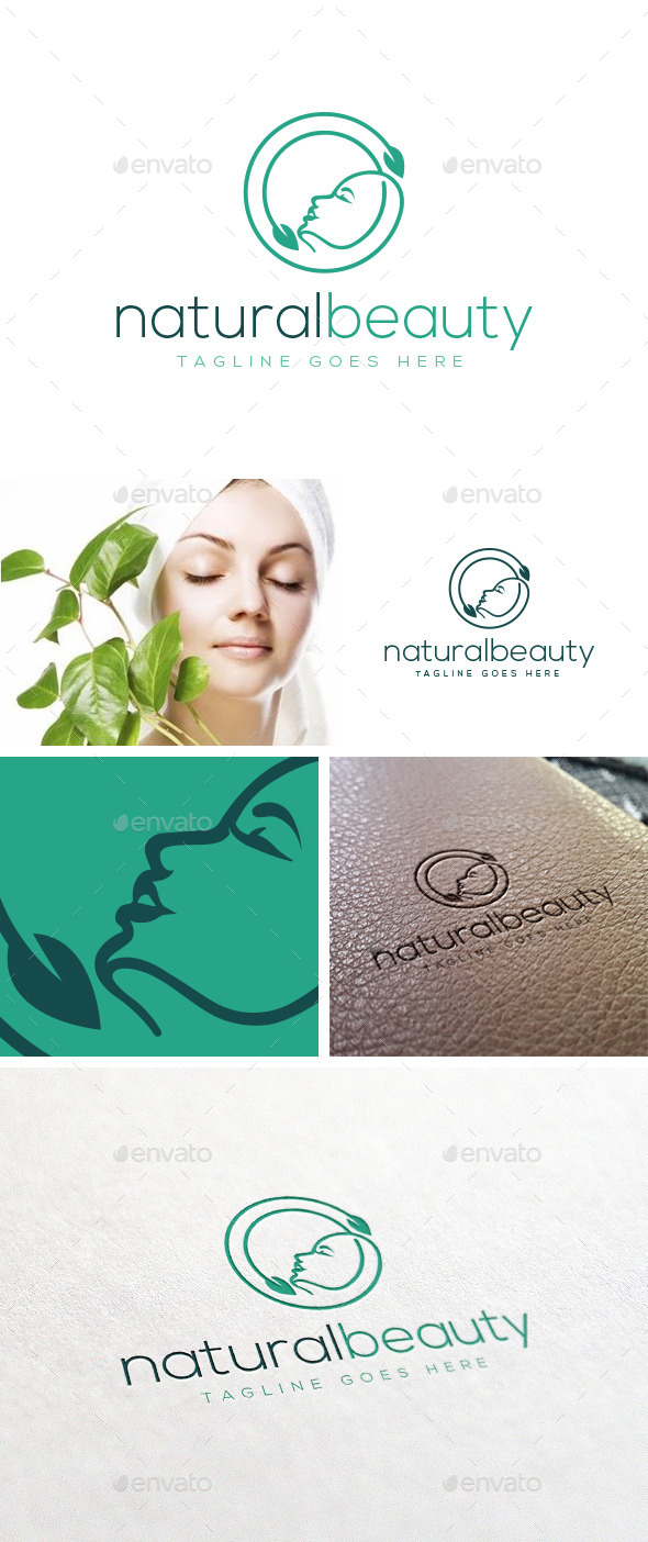 GraphicRiver Natural Beauty Logo Template 11298690