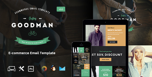 ThemeForest JG E-commerce Email Template & Builder Access 11298723