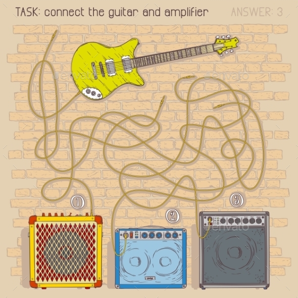GraphicRiver Electric Guitar And Amplifiers 11298740
