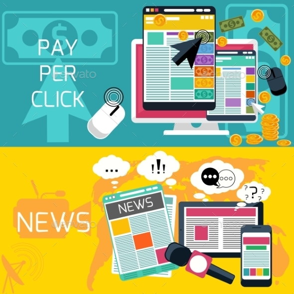 GraphicRiver Pay Per Click And News 11298902