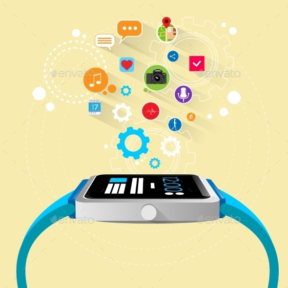 GraphicRiver Smart Watch New Technology Electronic Device 11298905