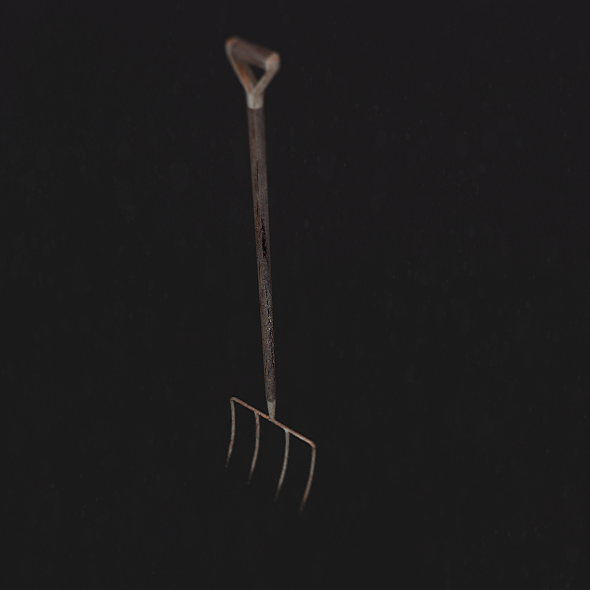 Basic Pitchfork - 3DOcean Item for Sale