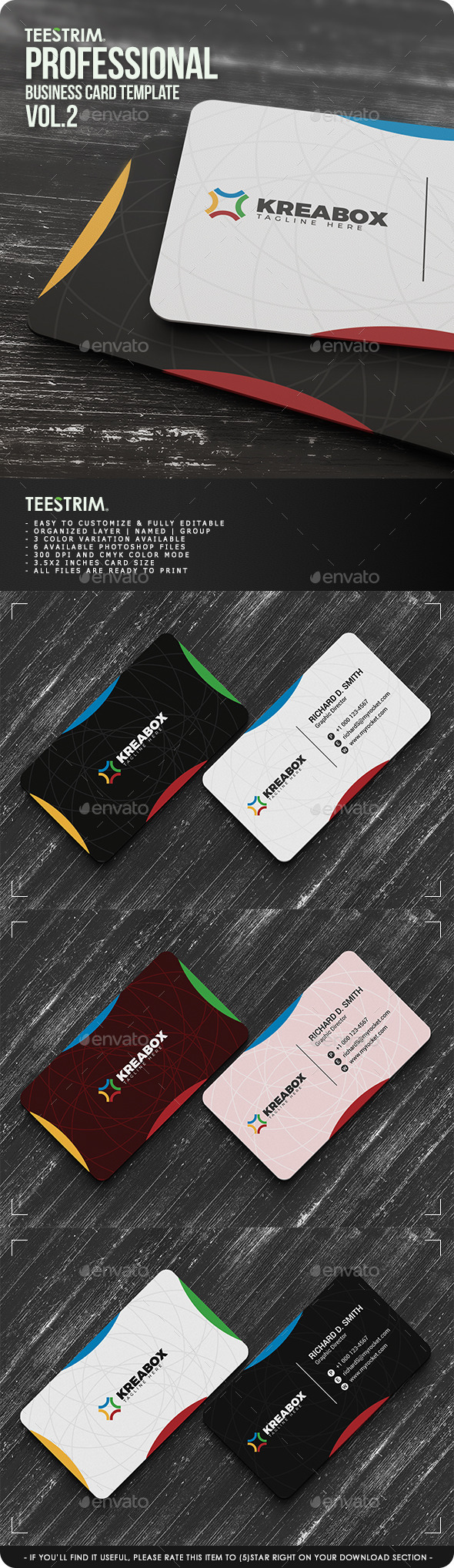 GraphicRiver Creative Business Card V.002 11299428