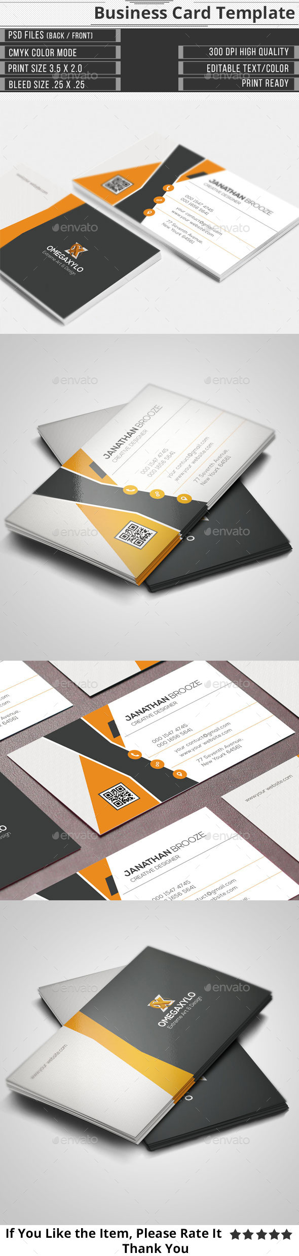 GraphicRiver Corporate Business Card 11299497