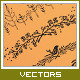 Vector Floral Dividers - GraphicRiver Item for Sale