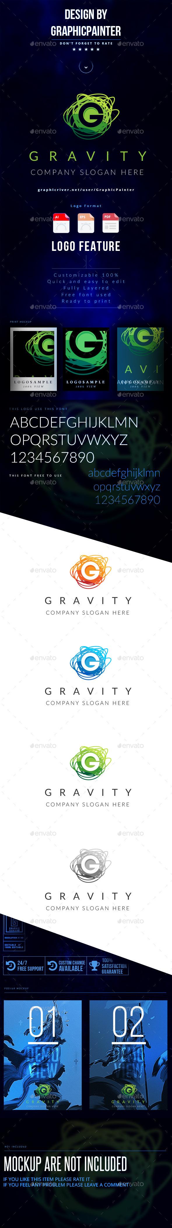 GraphicRiver Gravity Logo 11284999