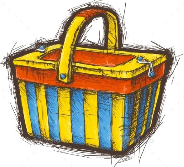 GraphicRiver Picnic Basket 11299634