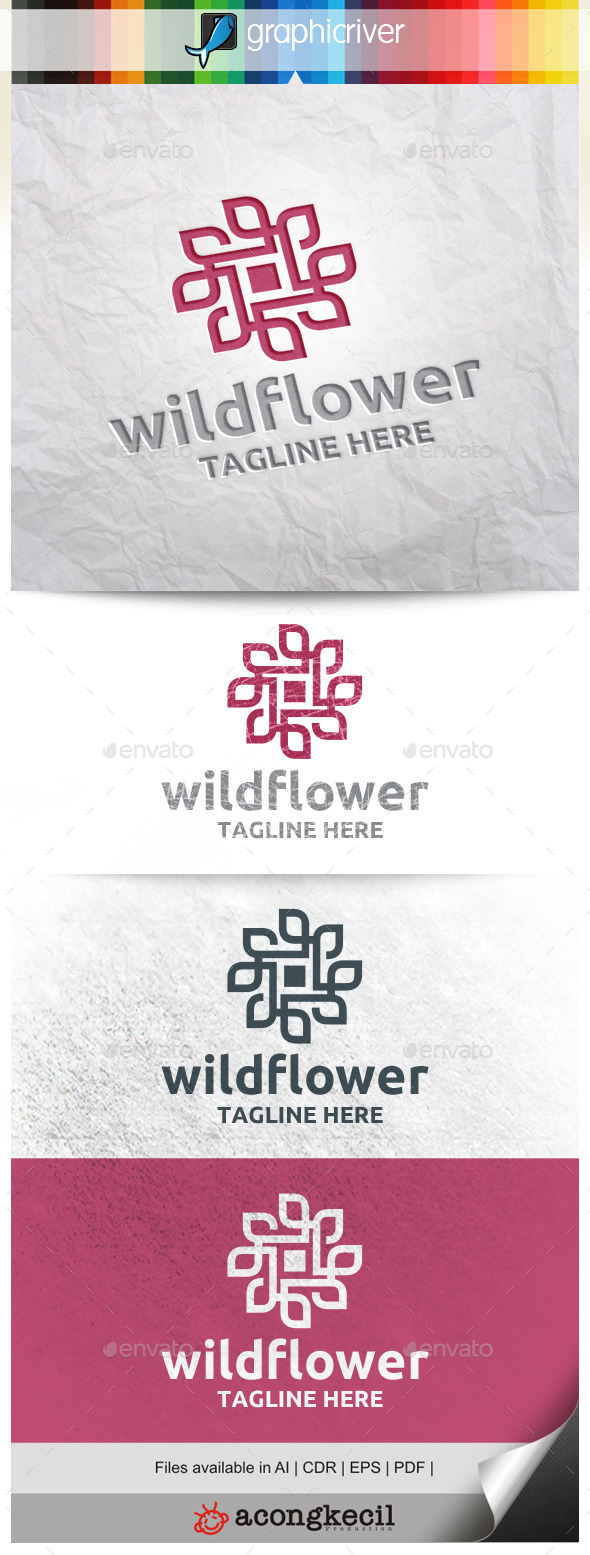GraphicRiver Wild Flower V.2 11299937