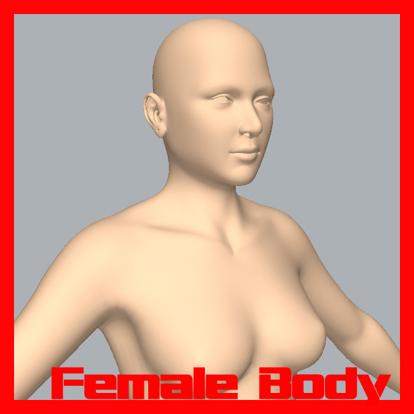3DOcean Female Body 11299979