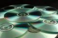 CD Disks On Pile Against Black 2 - PhotoDune Item for Sale