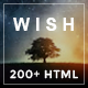 Wish-Multipurpose MultiPage + One Page - ThemeForest Item for Sale