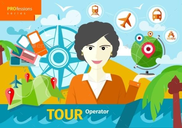 GraphicRiver Travel Agent 11300245