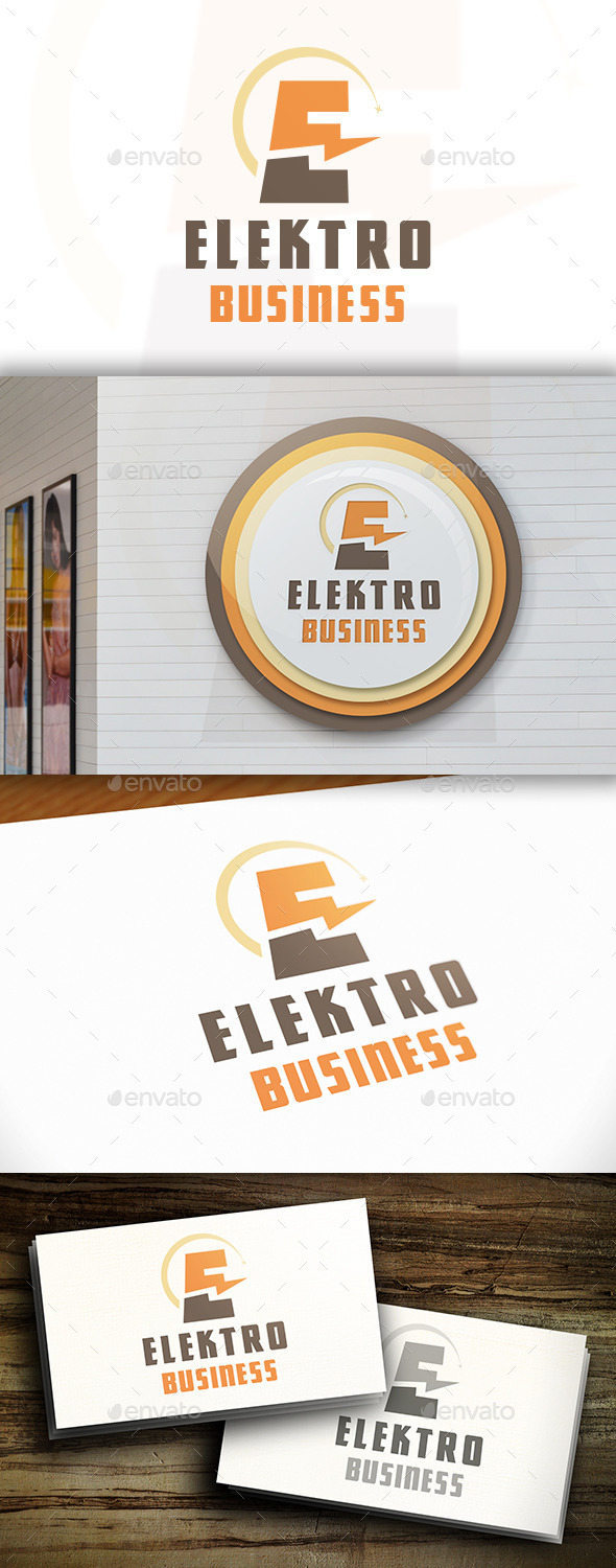 GraphicRiver Electric Brand Logo 11300568