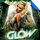 Glow Club Flyer Template - GraphicRiver Item for Sale