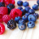 ripe blackberries, raspberries and blueberries - PhotoDune Item for Sale
