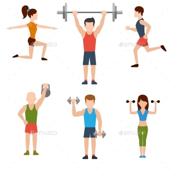 GraphicRiver Exercises With Weights 11300646