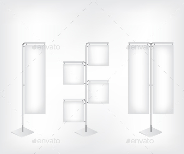 GraphicRiver Blank Banner Flag 11300862