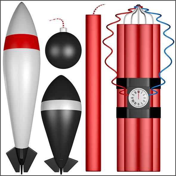 3DOcean Explosives 11300881