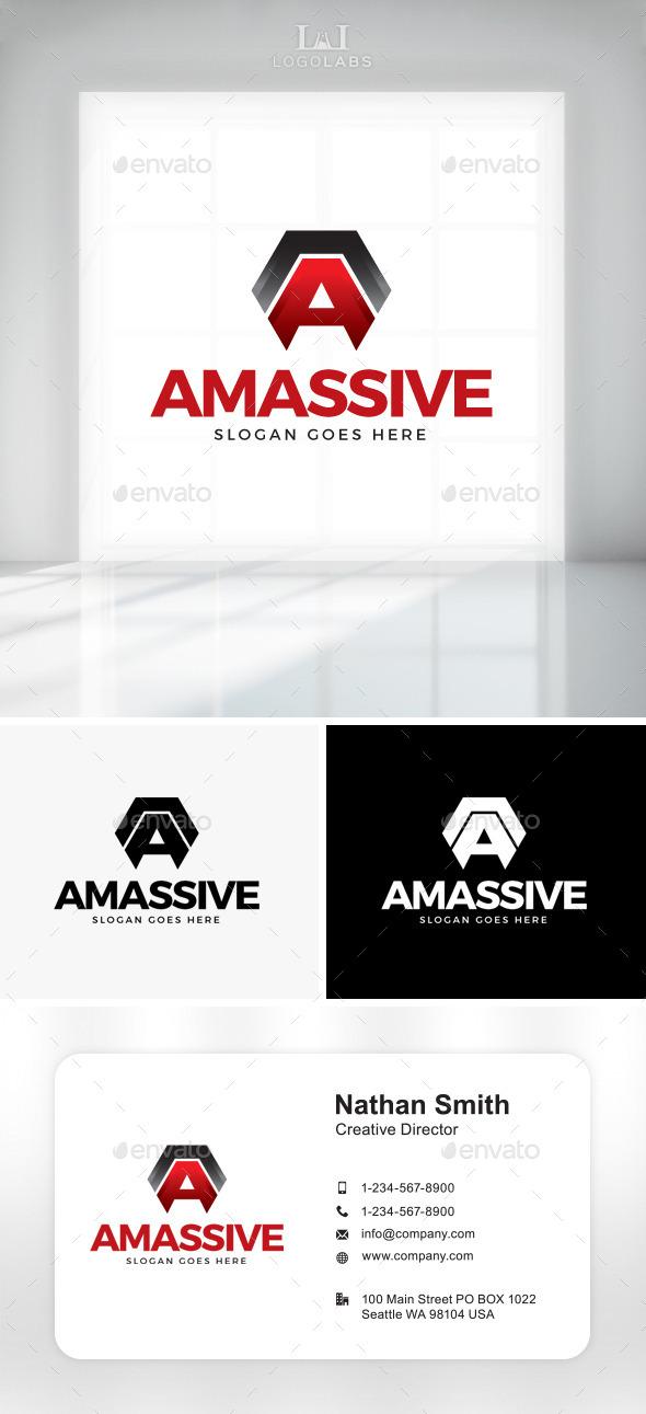GraphicRiver Amassive Letter A Logo 11301043