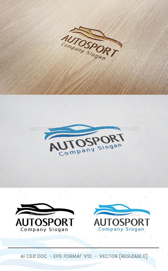 GraphicRiver Auto sport V2 Logo 11301107